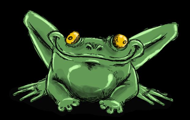 Å koke en frosk