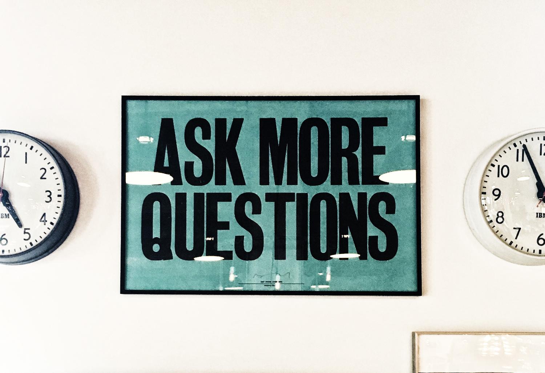Verdien av spørsmål