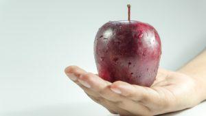 Jenta med eplene